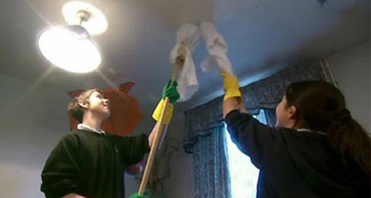 pulire-il-soffitto