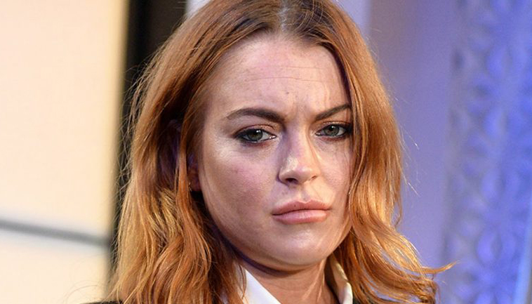 Famosos que ganharam muito dinheiro e ficaram pobres: Lindsay Lohan (Foto: Reprodução)