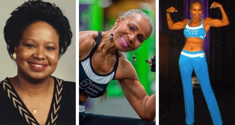 Ernestine Shepherd antes e depois