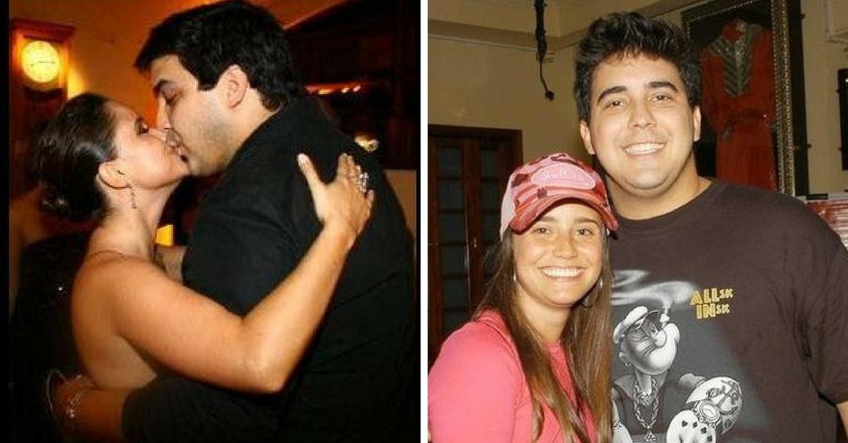 Fernanda Vasconcellos e André Marques
