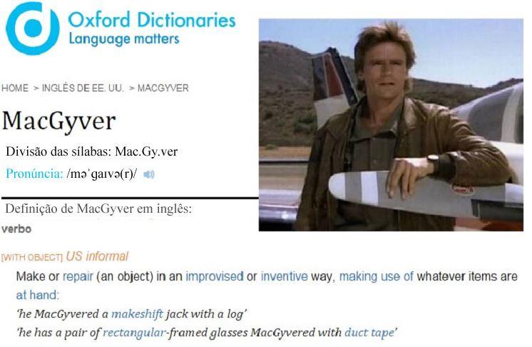 macgyver dicionario