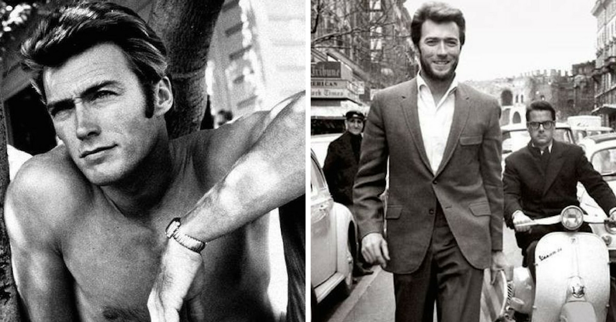 Clint Eastwood jovem