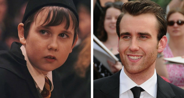 Matthew Lewis antes e depois