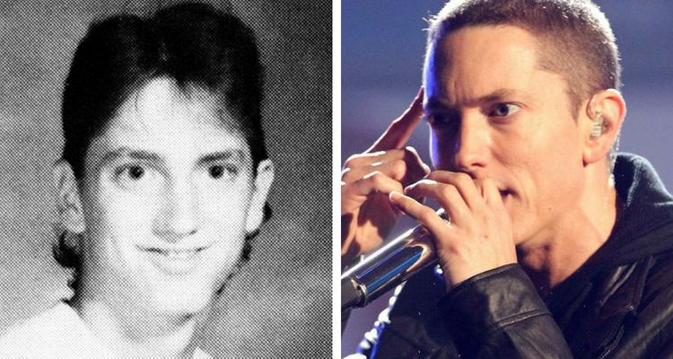 Eminem antes e depois