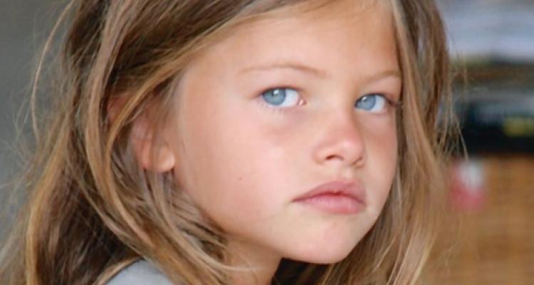 Thylane Blondeau criança