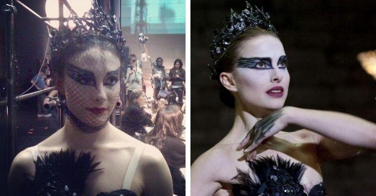 Natalie Portman e duble
