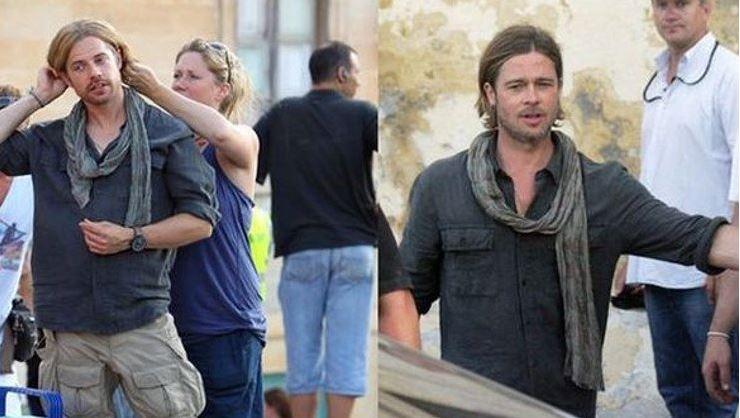Brad Pitt e duble