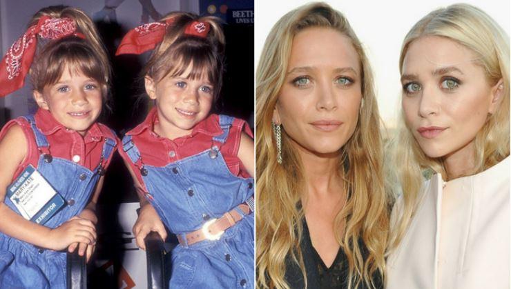 Mary-Kate e Ashley Olsen crianças
