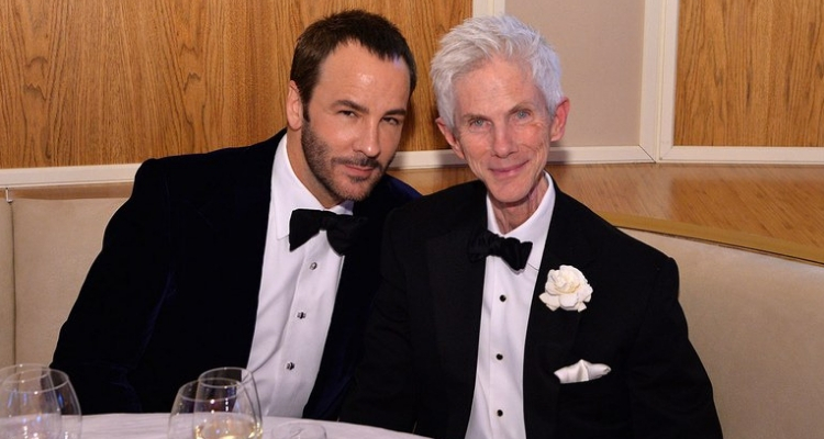 Tom Ford e marido