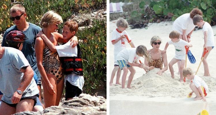 Filhos da Princesa Diana