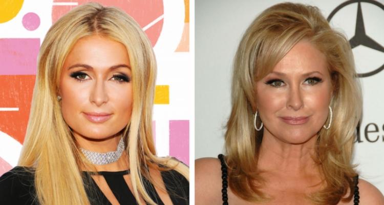 Paris Hilton e sua mãe