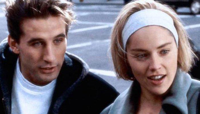 William Baldwin e Sharon Stone