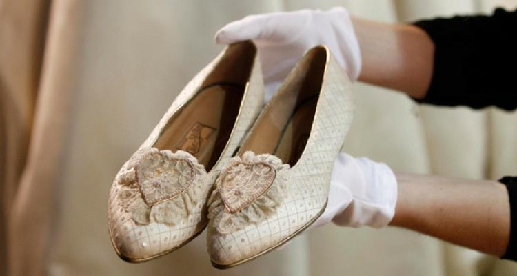 sapatos princesa diana