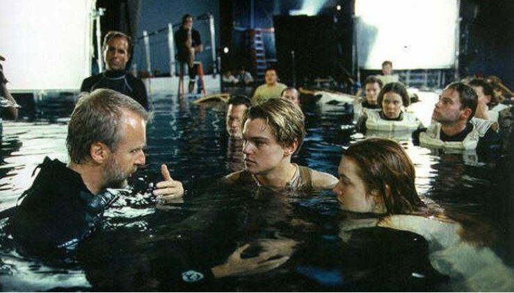 Titanic cena Jack e Rose