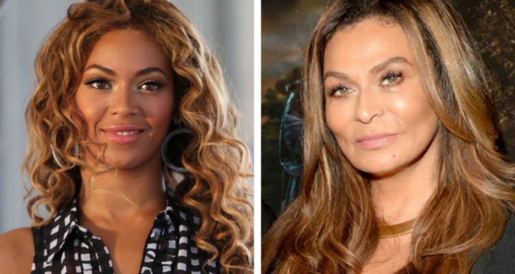 Beyonce e sua mãe
