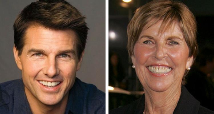 Tom Cruise e sua mãe