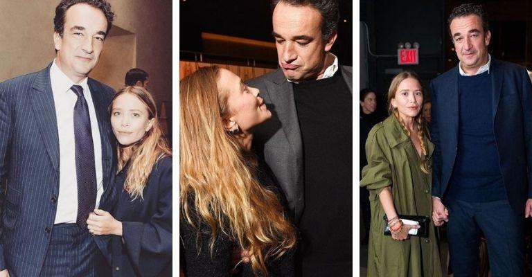 Mary Kate Olsen e Olivier Sarkozy