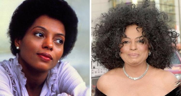 Diana Ross clareamento da pele