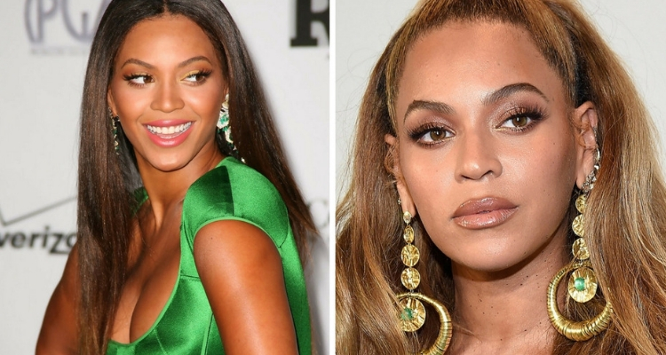 Beyonce antes e depois