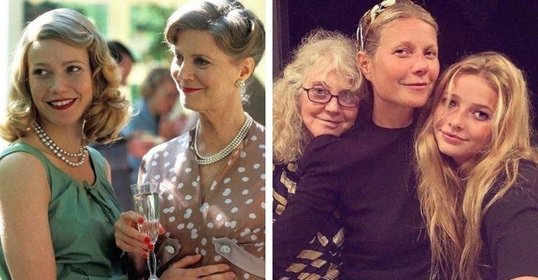 gwyneth paltrow e mãe
