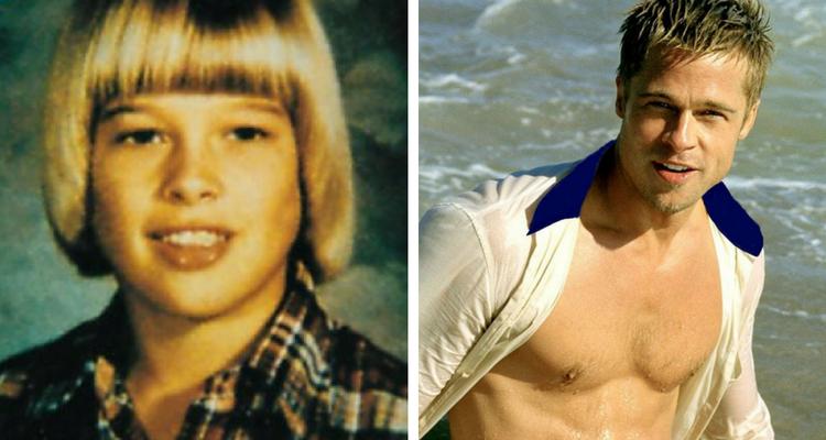 Brad Pitt jovem