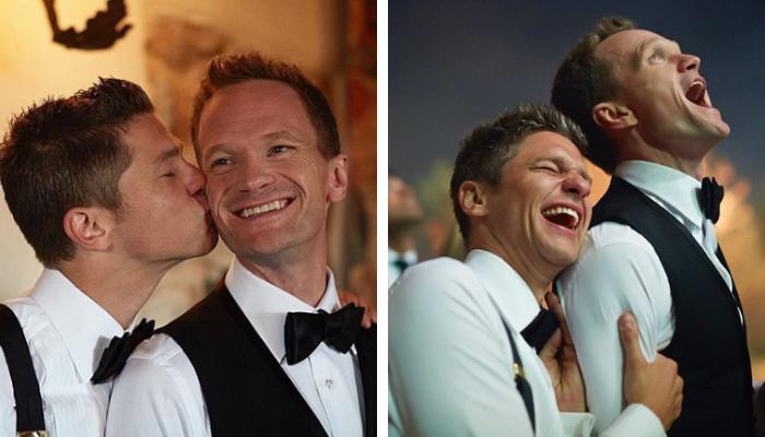 David Burtka e Neil Patrick Harris casamento