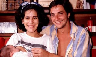 Fabio Júnior e Glória Pires