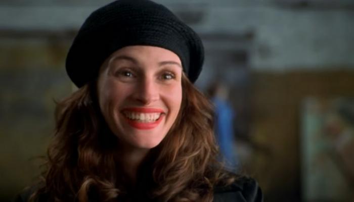 Julia Roberts em O sorriso de Mona Lisa