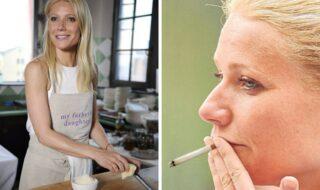 Gwyneth Paltrow fumando