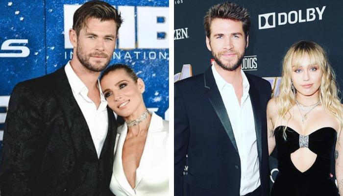 Chris e Liam Hemsworth