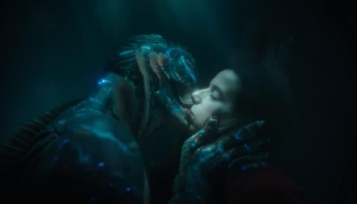 A forma da água cena do beijo