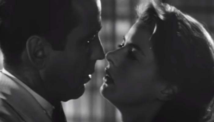 Casablanca cena do beijo