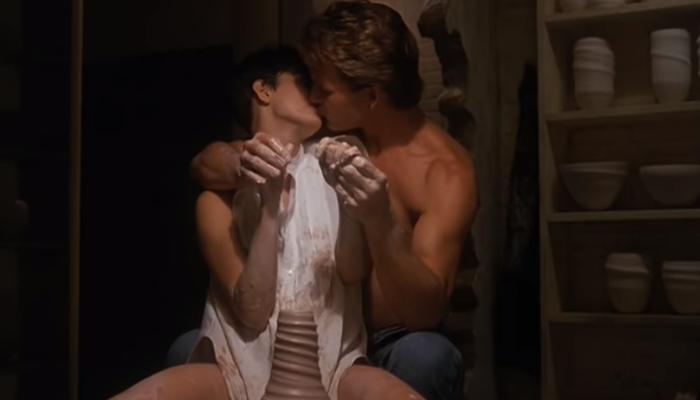 Ghost cena do beijo