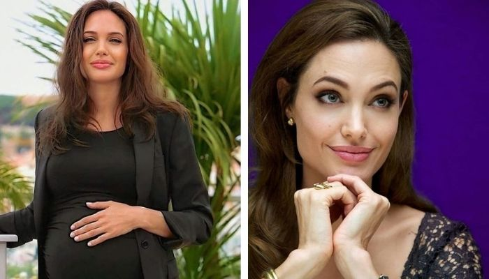 Angelina Jolie grávida