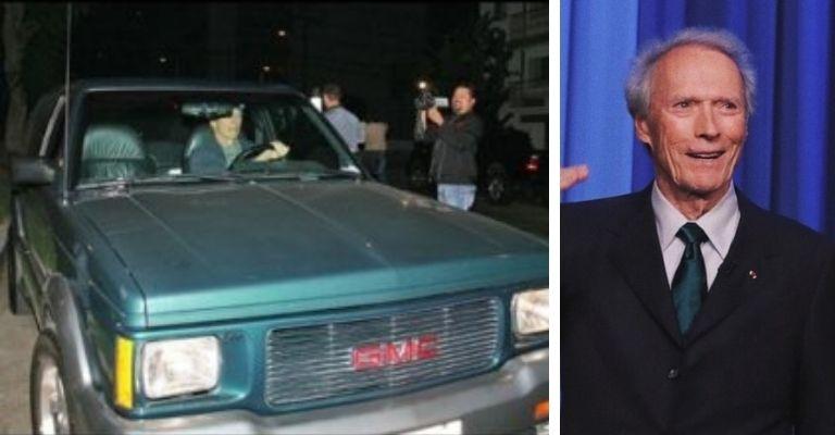 Clint Eastwood carro