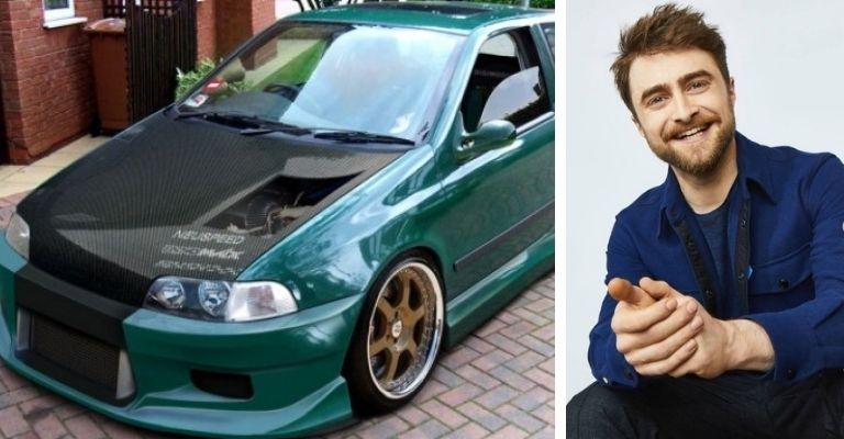 Daniel Radcliffe carro