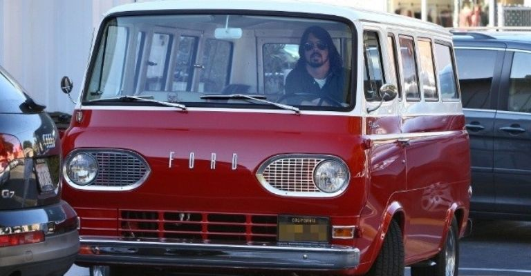 Dave Grohl carro