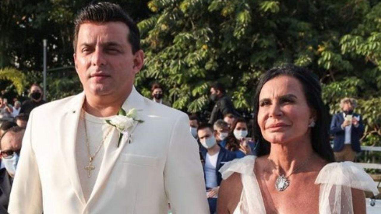 Gretchen casamento