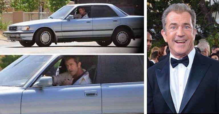 Mel Gibson carro