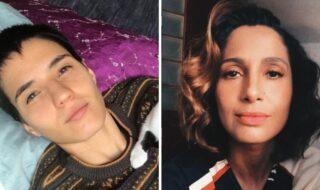 Camila Pitanga e namorada