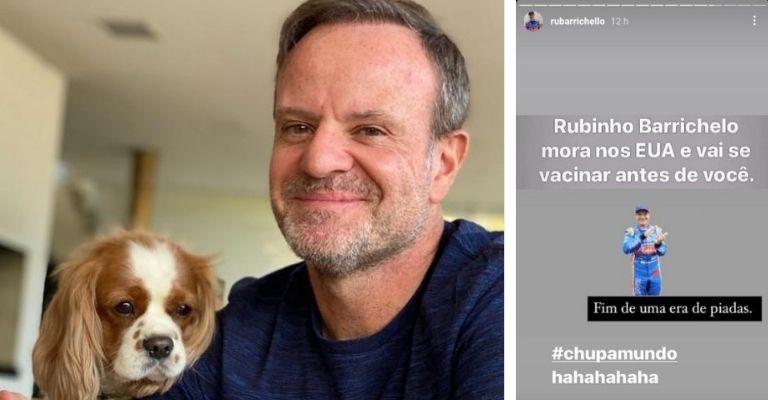 Rubens Barrichello instagram