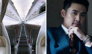 bilionário compra todos assentos de avião