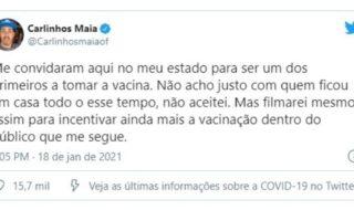 Carlinhos Maia Twitter