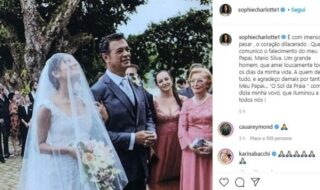 Sophie Charlotte casamento